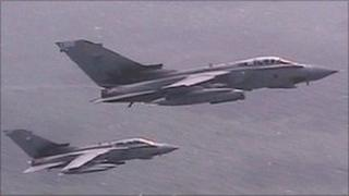Two Tornados from RAF Marham