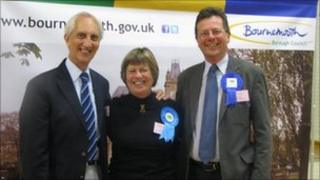 Conservative candidates in Bournemouth (picture from Bournemouth Borough council)