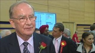 Labour group leader, councillor Keith Austin