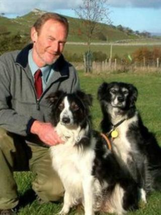 David Watt and dogs