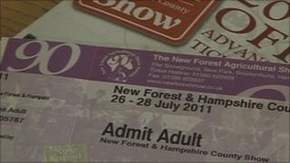 New Forest Show tickets
