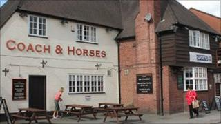 Coach and Horses, Ashbourne
