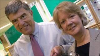 Doug and Dame Mary Perkins