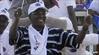 President Idriss Deby. Photo: April 2011