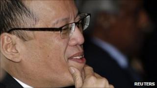 Philippine President Benigno Aquino May 7, 2011