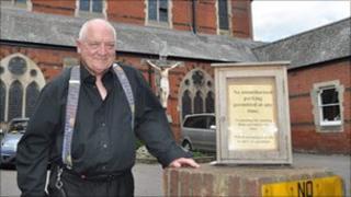 Father Francis Leeder, St Pancras Church, Ipswich