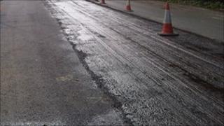 Road resurfacing - generic