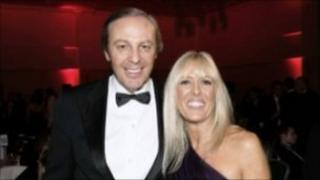 Michael Herbert and his wife