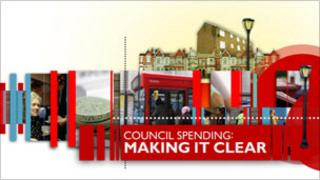 Council spending: Making it clear logo