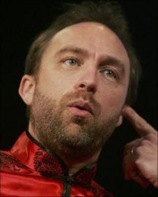 Jimmy Wales, founder of Wikipedia