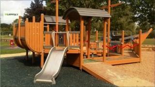 Emberton Park Play Area