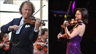 Andre Rieu and Tasmin Little