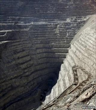 Copper mine, Chile (Image: Reuters)