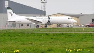 Newspaper plane