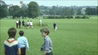 Verulamium Park in 1986