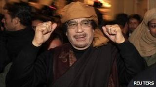 Col Muammar Gaddafi (8 March 2011)