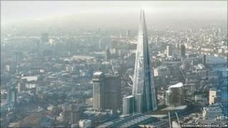 The Shard of Glass development