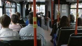 Bus passengers - generic