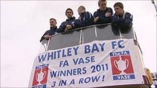 Whitley bay bus parade