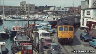 Weymouth Quay railway