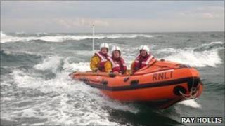 RNLI Arbroath lifeboat - pic Ray Hollis