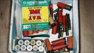 Box of cartridges