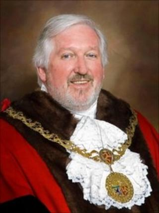 The Mayor of Douglas Ritchie McNicholl