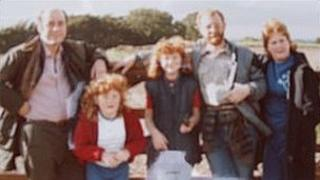 The Partington family in the 1980s