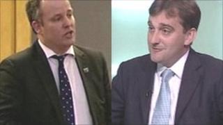 Andrew RT Davies and Nick Ramsay