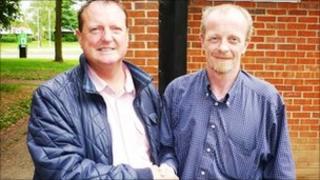 Councillors Steve Foulkes and Steve Niblock