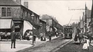 Coatsworth Road in 1910