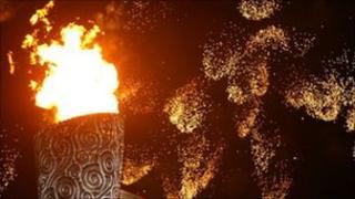 Beijing flame