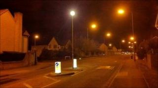 Webbs Wood Road in Bradley Stoke