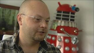 Paul Davis and Dalek