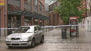Victoria Square shopping complex was evacuated on Tuesday morning