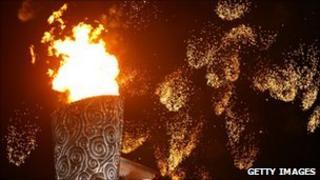 Beijing Olympic cauldron
