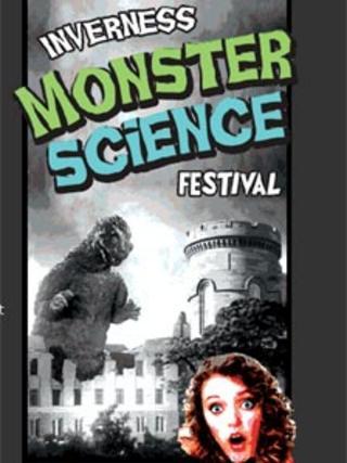 Inverness Monster Science Festival poster