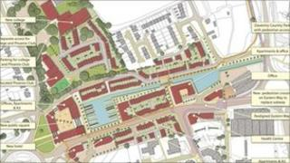 Daventry town centre plans