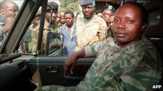 Augustin Bizimungu in Goma in 1994