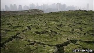 Yangtze river dry
