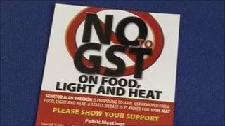 Flyer for removing GST from food, light and heat