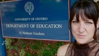 Bree Loverich at Oxford University