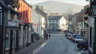 Ruthin, Denbighshire