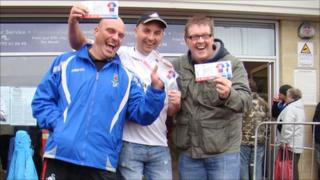 Swans fans secure tickets for Wembley