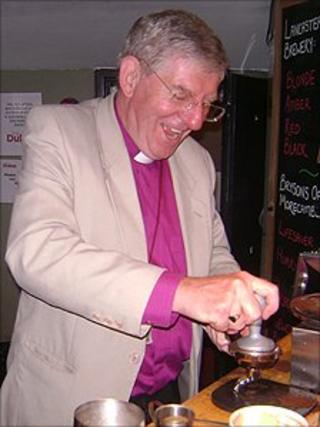 The Right Reverend Geoff Pearson, Bishop of Lancaster