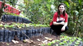 Hayley Atwell in Nicaragua