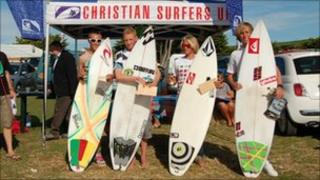 Christian surfers