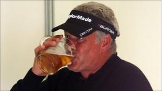 Darren Clarke booze