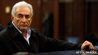 Dominique Strauss-Kahn in court (16 May 2011)