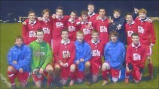 Mid Oxon schools U15s district football team